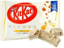 Nestle KitKat White Chocolate Mini Biscuit 12 Mini Biscuits ~ US SELLER - $14.84