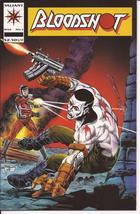 Valiant Bloodshot Lot Issues #2,4,6, & 9  Action Adventure Drama - $9.95