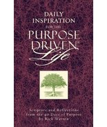 Daily Inspiration for the Purpose Driven Life: Scriptures and Reflection... - $11.87