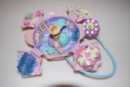 Polly Pocket Bluebird Fountain Fantasy Magical Pink Flower Lily Pad 1996 - $14.95