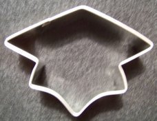 Primary image for Graduation Cap cookie cutter