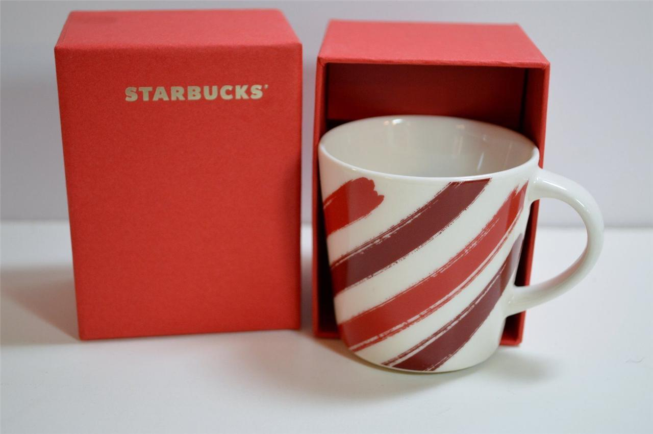 NEW Starbucks 2014 Holiday Espresso Mug 3oz New in Gift Box