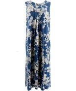 Beauty Sleep BedHead Cotton Stretch Floral Long Gown Country Bloom M NEW... - $34.63