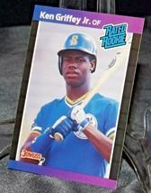 1989 DonRuss Rated Rookie Ken Griffey Jr. AA20-BTC3028 Baseball Trading Cards #  image 2