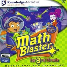 Math Blaster for 3rd Grade [CD] [CD-ROM] - $7.92