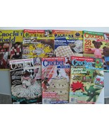 Crochet World magazine 14 Back Issues Patterns Crafts Decor Clothing - $14.95