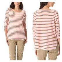 VINCE CASHMERE RED STRIPED SWEATER - $3.824,30 MXN