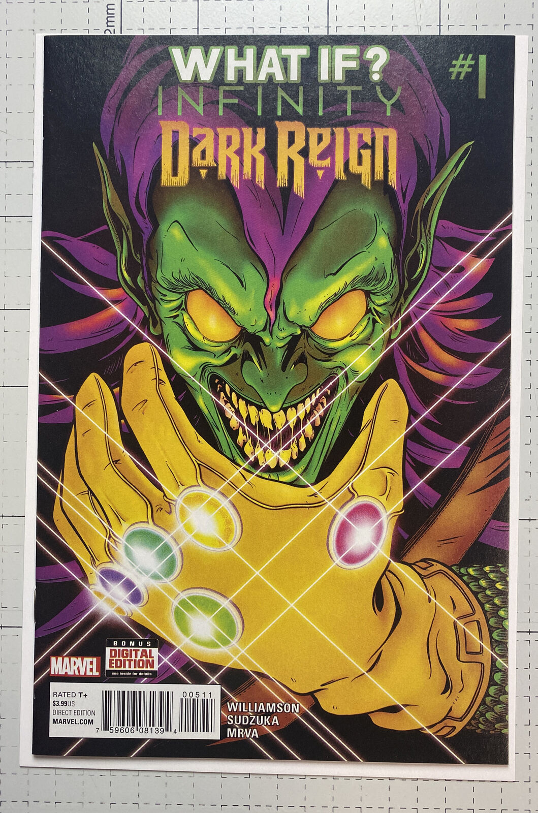 Primary image for What If? Infinity Dark Reign #1 2015 Marvel (High Grade)