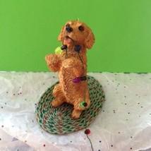 Golden Retriever Ornament Sandicast Christmas Holiday Light Bulbs Dogs P... - $29.05