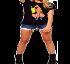 Nicki Minaj Anaconda Spoof  Animated, Animation, Ladies T-Shirt - $12.00+