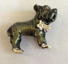 French Bulldog Pendant Pin Jewelry Show Dogs France Boston Terrier Anima... - $13.92