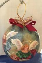 Angel Ornament Christmas Gift Tomorrow Today Rare Cherub Heaven Vintage NIB - $19.39