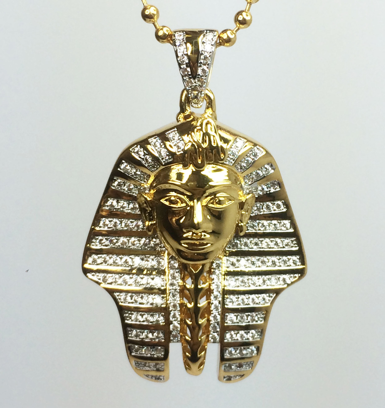 Egyptian pharaoh king tut pendant and bead and 50 similar items photo 5 9 photo 5 9 egyptian pharaoh king tut pendant aloadofball Gallery