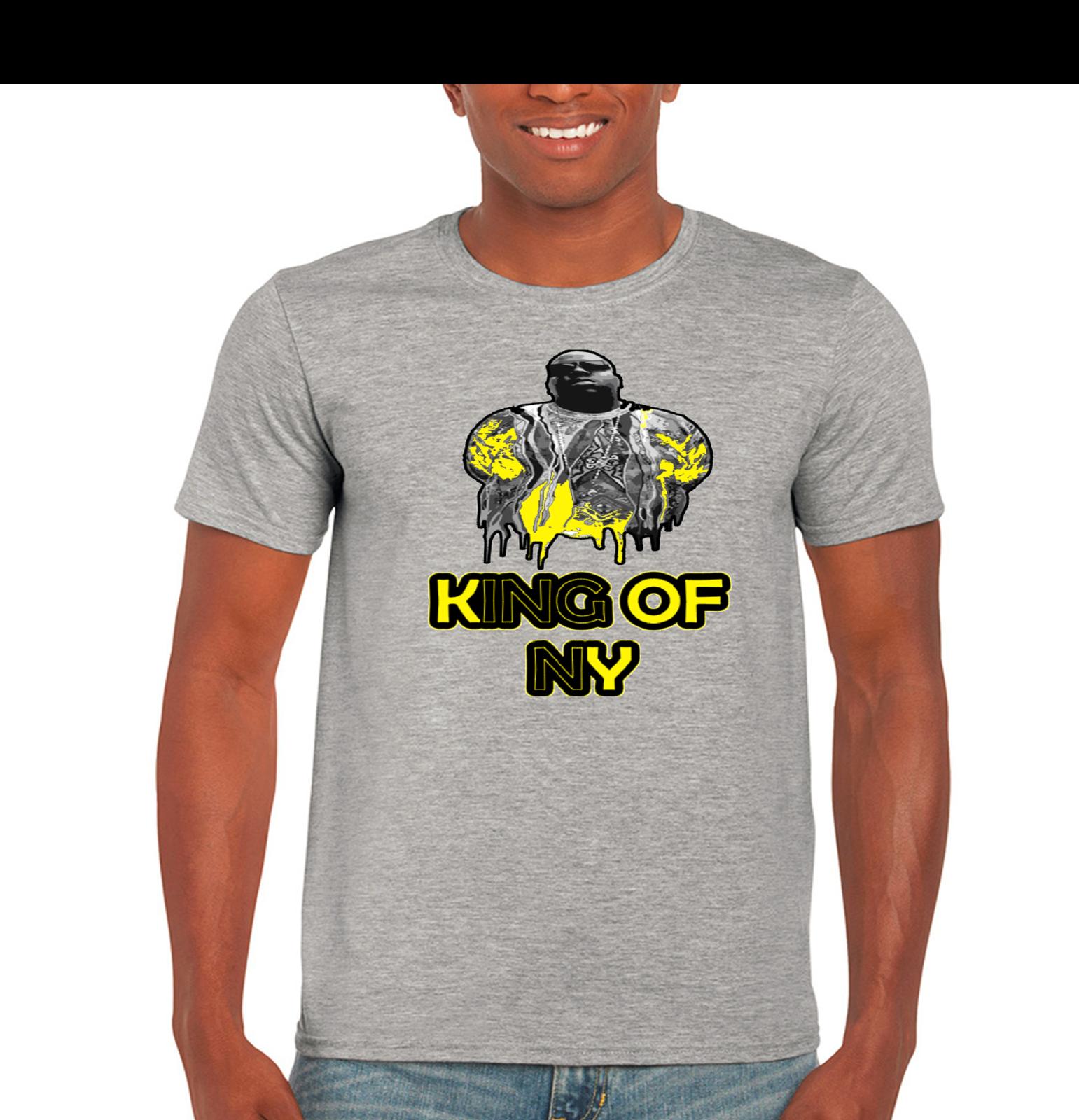 Rapper notoroius big biggie smalls biggie mens t shirt for Big mens t shirts