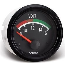 "VDO 12V Voltmeter Gauge 2 1/16"" for VW Sand Rail Buggy - $39.99"