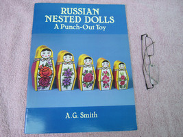 RUSSIAN Nested Dolls Punch Out Toy Paper Doll U... - $14.04