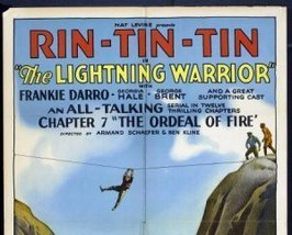 THE LIGHTNING WARRIOR, 12 CHAPTER SERIAL, 1931 - $19.99