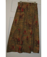 Vintage Cambridge Dry Goods Long Cotton Skirt S... - $40.00
