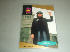 1991 ProSet Super Stars MusiCards #15 John Lennon Legends - $3.19