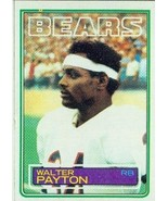 1983 Topps #36 Walter Payton - Chicago Bears (Football Cards) [Misc.] - $3.99