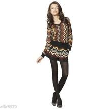 Missoni For Target Women's Zig Zag Chiffon Sweater Top  Size L Nwt - $56.43