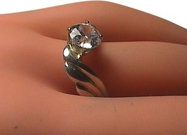 Sterling Silver CZ Ring Size 9 - €25,55 EUR