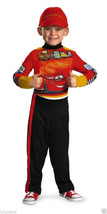 Boys Cars 2  Lightning Mcqueen Pit Crew  Costume NW FREE SHIP W/BUY IT N... - £16.94 GBP