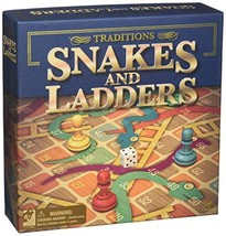 """Snakes & Ladders 13.5""""x13.5"""" Board Game - $7.47"""