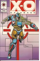 Valiant X-O Database #1 Action Adventure Drama - $3.95