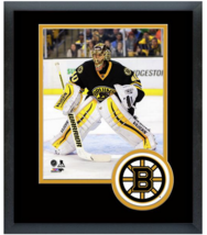 Tuukka Rask 2014-15 Boston Bruins -11 x 14 Team Logo Matted/Framed Photo - $42.95