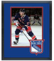 Ryan McDonagh 2014-15 New York Rangers -11 x 14 Team Logo Matted/Framed Photo - $42.95