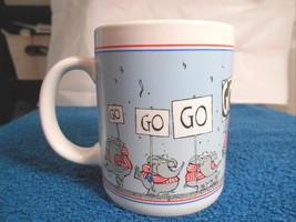 Hallmark Mugs 1988 Republican GO GO GO GOP Mug Cup Coffee Politics - $11.83