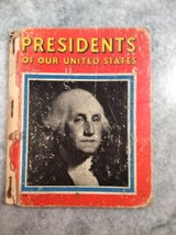 Book Presidents Of Our United States Rand McNally 1939 - $5.00