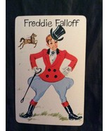 "Old Maid "" Freddie Falloff"" Swap Card Replacement Card ~ Vintage Whitman... - $5.00"