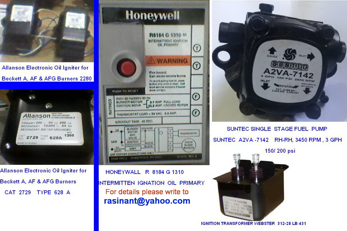 We sell original spare (HVAC) parts - and 50 similar items