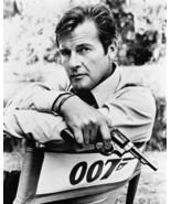 Live and Let Die Roger Moore Gun Vintage 8X10 BW Movie Memorabilia Photo - $4.99