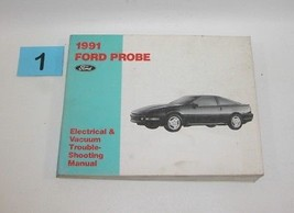 1991 Probe Electrical and Vacuum Trouble Shooting Service Manual GOOD USED 1 - $14.80