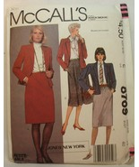 Sewing pattern McCALL'S 8769 Misses Business Jacket Skirts Size 18 Uncut - $4.93
