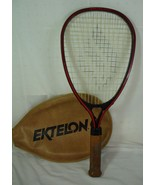 EKTELON EXCEL GRAPHITE RAQUET BALL RACKET WITH COVER - $19.99