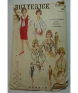 Sewing Pattern Vintage Blouse  Butterick 3226 Vintage V-neck Jumper Size... - $5.99