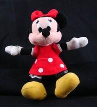"Disney Minnie Mouse 8"" Doll Toy Plush Stuffed Animal EUC - $5.98"