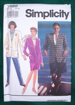 Sewing Pattern Simplicity 7489 Misses Jacket Skirt Pants Shorts Sz 12 14 16 - $4.99