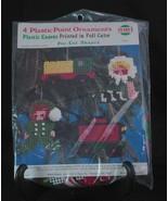 Needlemagic Plastic Canvas Needlepoint Kit Ornaments Pre-Cut Shapes New ... - $10.97
