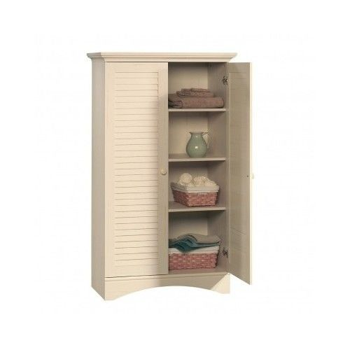 Kitchen Storage Cabinet Pantry Tall Cupboard Shelve Linen Closet