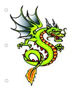 Dragon0557 Binder Dividers-Digital Download-Cli... - $3.00