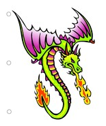 Dragon0558 Binder Dividers-Digital Download-Cli... - $3.00