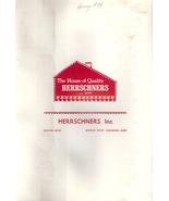 Vintage Spring of 1984 Herrschners Yarn Sample Index / Color Chart - $7.00