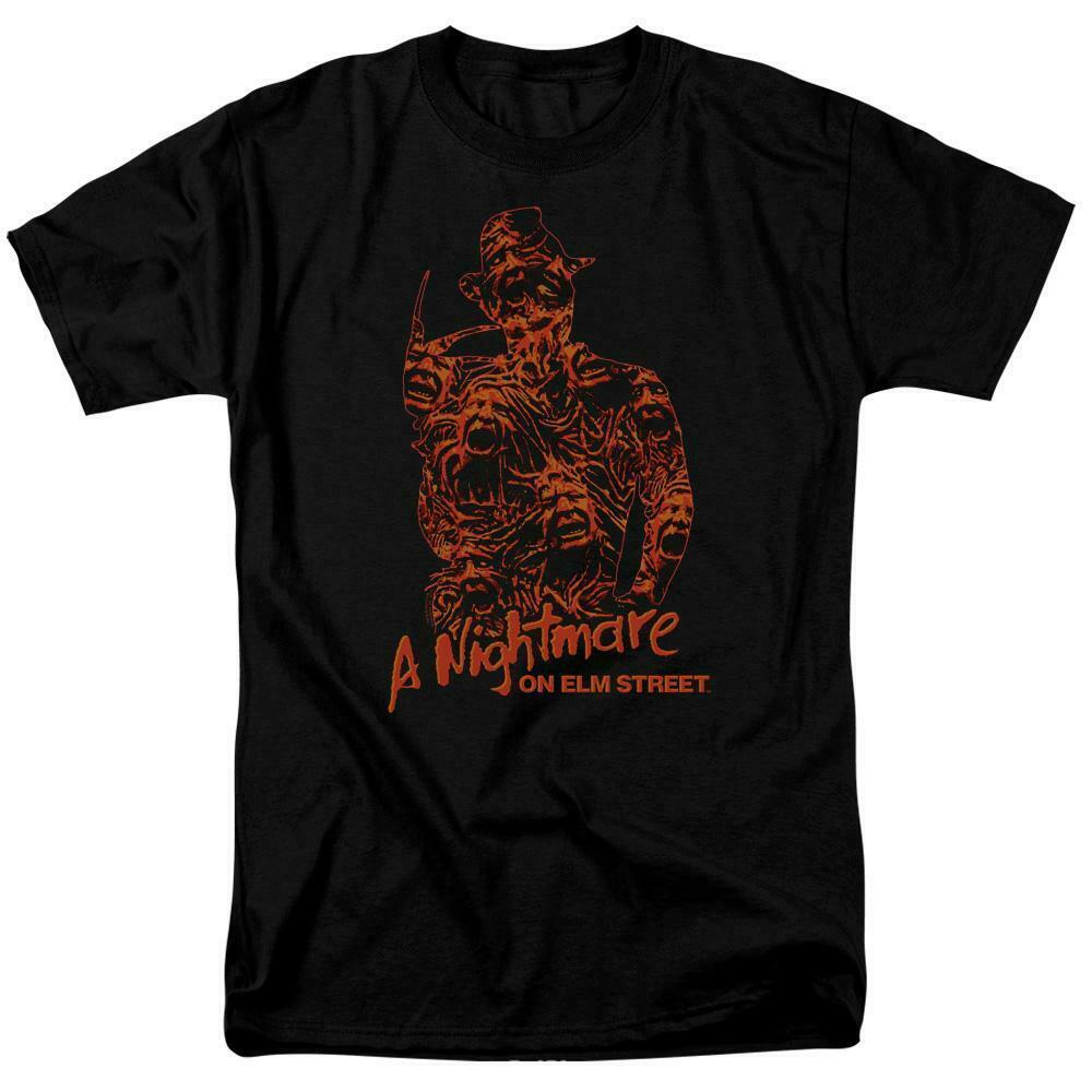 Nightmare on elm street tshirt lost souls freddy krueger 80s horror movie wbm693