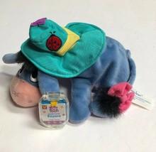 Disney Shade Lovin' Eeyore Star Bean Plush Fisher Price Winnie the Pooh Friend - $8.81