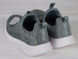 Skechers Jugend Mädchen Schuhe Sneaker Grau ohne Bügel Größe 10.5 image 8